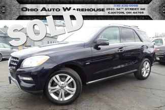 2012 Mercedes-Benz ML 350 4Matic Navi Sunroof Clean Carfax We Finance | Canton, Ohio | Ohio Auto Warehouse LLC in  Ohio