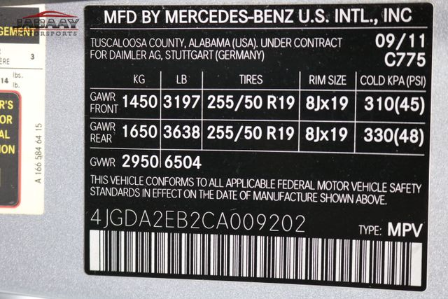 2012 Mercedes-Benz ML 350 BlueTEC Merrillville, Indiana 50