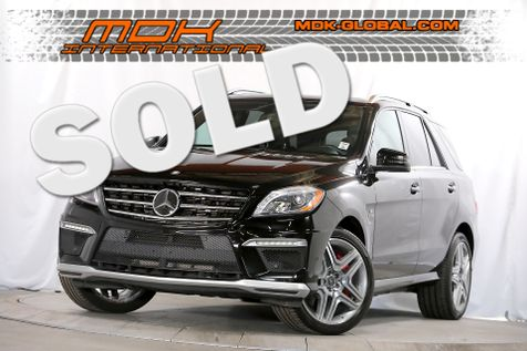 2012 Mercedes-Benz ML 63 AMG - Performance pkg - 21