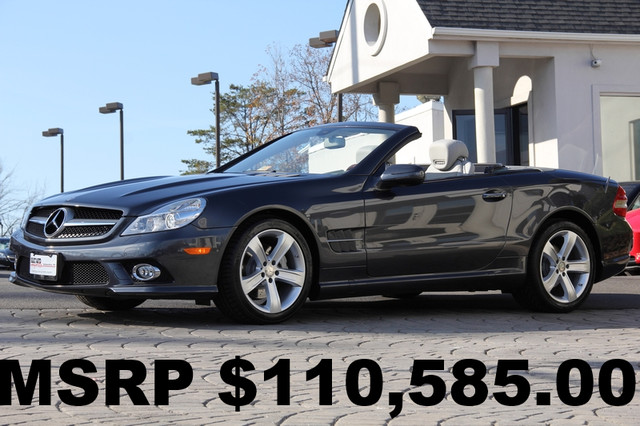 2012 Mercedes SL-Class SL550 2dr Convertible CD Player CD Changer Anti-Theft Convertible Sunroo