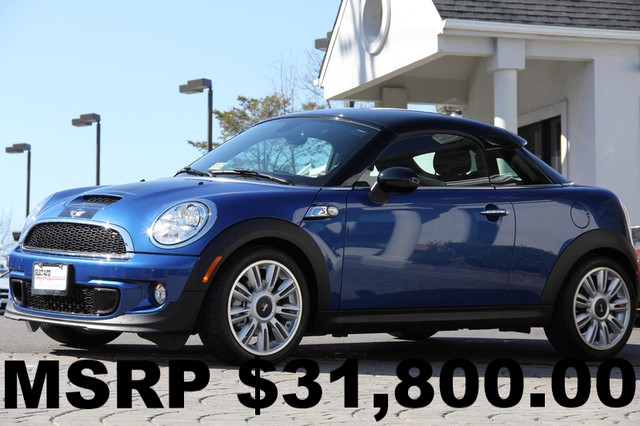 2012 MINI Coupe S 2dr Coupe AMFM CD Player Anti-Theft AC Cruise Power Locks Power Windows T