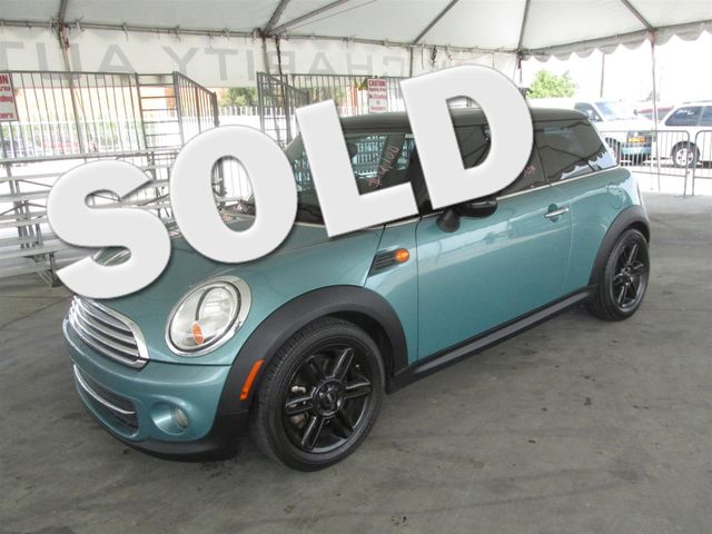 2012 MINI Hardtop Please call or e-mail to check availability All of our vehicles are available