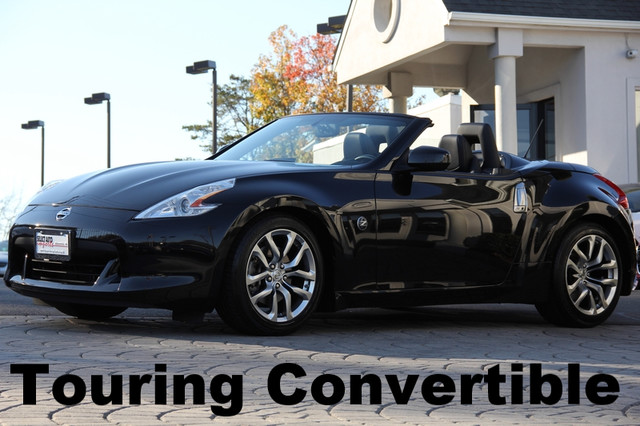 2012 NISSAN 370Z Roadster 2dr Convertible AMFM Anti-Theft AC Cruise Power Locks Power Windows