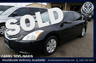 2012 Nissan Altima 2.5SL ONLY 62K Miles, Black on Black Leather, NICE! in Garland
