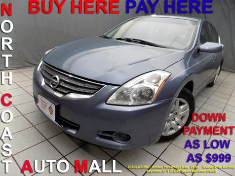 2012 Nissan Altima 2.5 S As low as $999 DOWN in Cleveland, Ohio