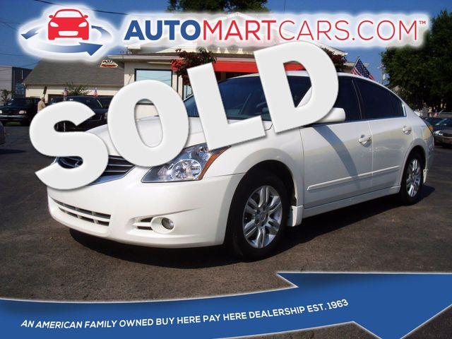 2012 Nissan Altima 2.5 S | Nashville, Tennessee | Auto Mart Used Cars Inc. in Nashville Tennessee