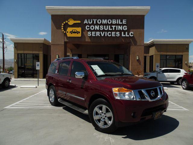 2012 Nissan Armada Platinum Bullhead City, Arizona 0
