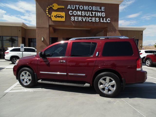 2012 Nissan Armada Platinum Bullhead City, Arizona 4
