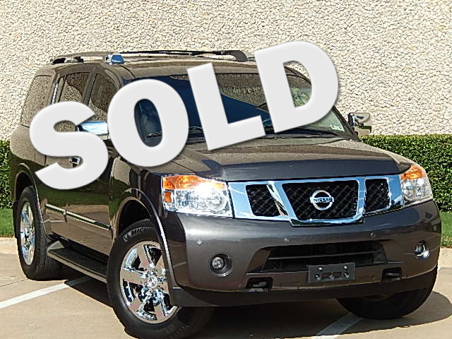 2012 Nissan Armada Platinum 2012 NISSAN ARMADA PLATINUM 4X4 VERY CLEAN AND LOADED 56L V8 317 HORSE