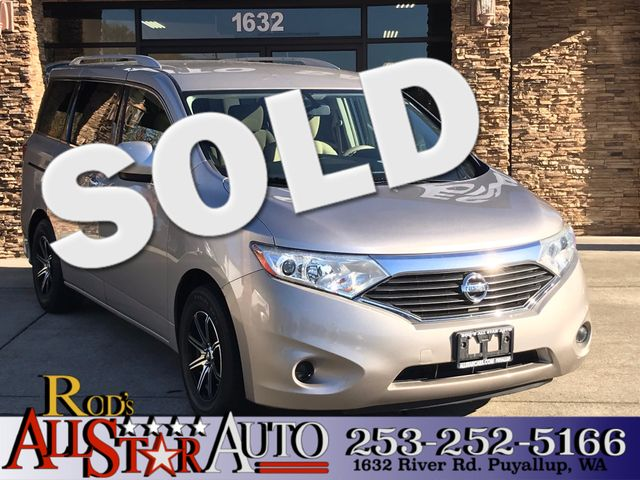 2012 Nissan Quest S The CARFAX Buy Back Guarantee that comes with this vehicle means that you can
