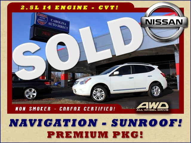 2012 Nissan Rogue SV AWD - PREMIUM PKG - NAVIGATION - SUNROOF! Mooresville , NC 0
