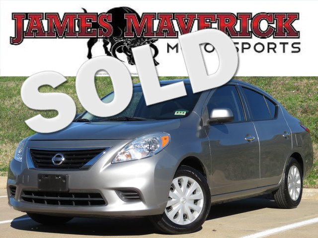 2012 Nissan Versa SV 12012 VERSA SV EXCELLENT CONDTION STRONG TIRES POWER SEAT CRUISE Fres