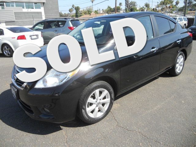 2012 Nissan Versa SL San Diego, CA
