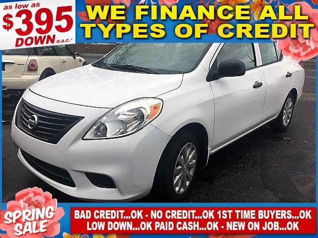 2012 Nissan Versa S Limited warranty included to assure your worry-free purchase AutoCheck report
