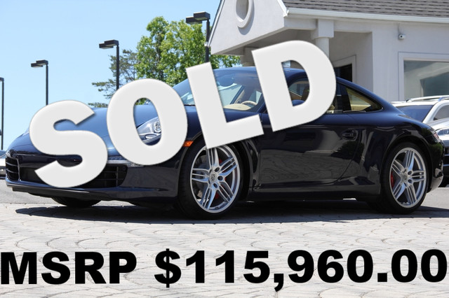 2012 PORSCHE 911 AWD Carrera 4S 2dr Coupe AMFM CD Player CD Changer Anti-Theft Sunroof AC Cr