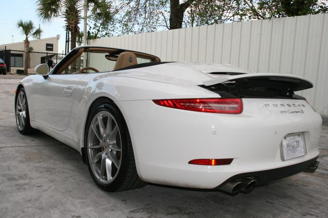 2012 Porsche 911 991 Carrera S Cab Houston, Texas 10