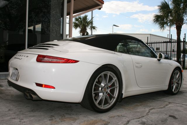 2012 Porsche 911 991 Carrera S Cab Houston, Texas 4