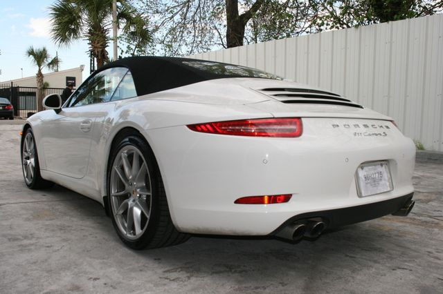 2012 Porsche 911 991 Carrera S Cab Houston, Texas 6