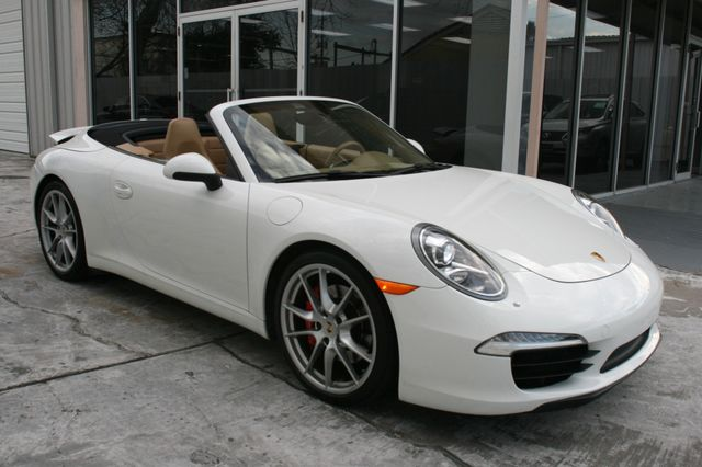 2012 Porsche 911 991 Carrera S Cab Houston, Texas 8