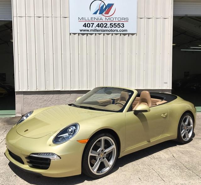 2012 Porsche 911 CONVERTIBLE 991 Longwood, FL 43