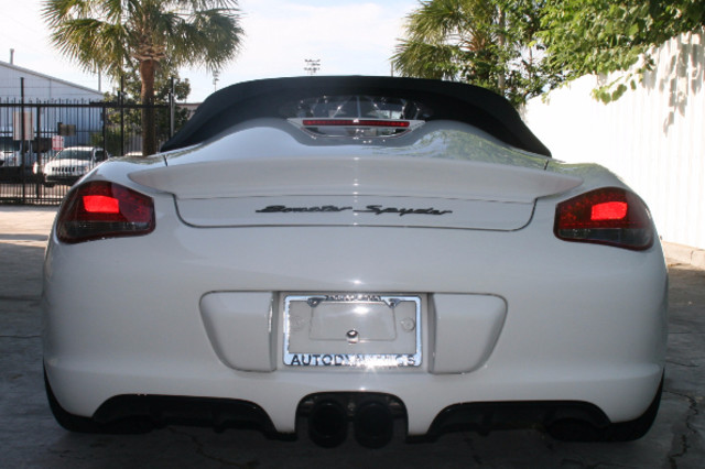 2012 Porsche Boxster S Spyder Houston, Texas 4