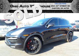 2012 Porsche Cayenne Turbo AWD Navi Pano Cln Carfax We Finance | Canton, Ohio | Ohio Auto Warehouse LLC in  Ohio