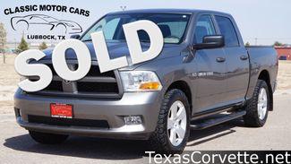 2012 Ram 1500 in Lubbock Texas