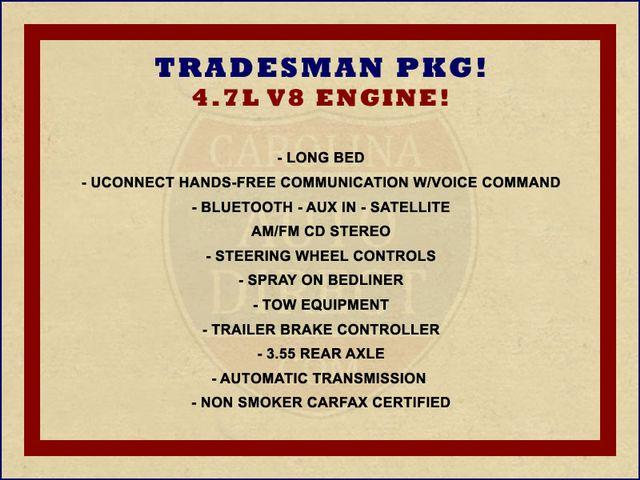 2012 Ram 1500 Tradesman Pkg REG CAB Long Bed RWD Mooresville , NC 1