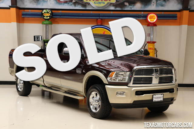 2012 Ram 2500 Laramie Longhorn 4x4 This Carfax 1-Owner 2012 Ram 2500 Laramie Longhorn is in great