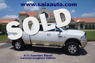2012 Ram Dodge 2500 Crew Cab 4wd Laramie Longhorn 6.7 Diesel Leveled ON 35s