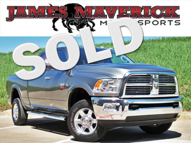 2012 Ram 2500 Laramie CLEAN CARFAX TX ONE OWNER ROOFNAVIGATIONCHROME HEATEDCOOLED LEATHER B