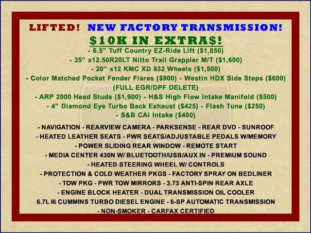 2012 Ram 2500 Laramie Crew Cab 4x4 - LIFTED - $10K EXTRA$! Mooresville , NC 1