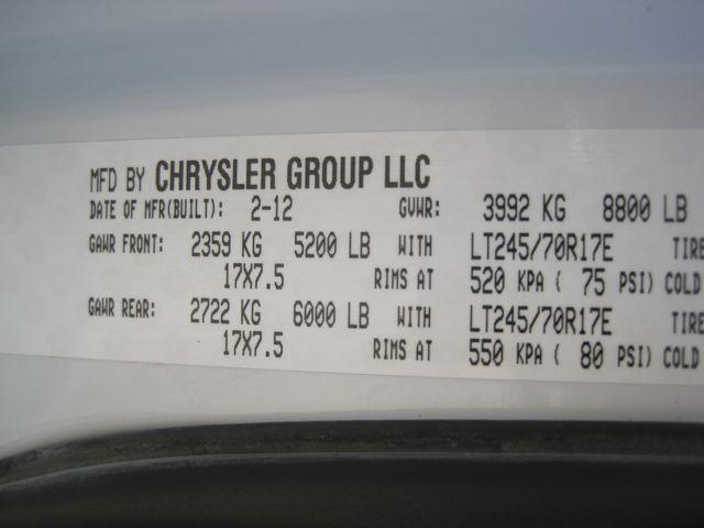 2012 Ram 2500 Crew Cab 4x4, Hemi, Power Pack, X/Nice Plano, Texas 33