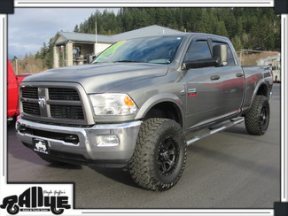 2012 Ram 3500 4WD C/CAB Outdoorsman 6.7L I6 CUMMINS DIESEL 6 SPEED MANUAL Burlington, WA