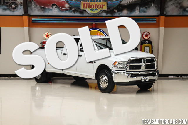 2012 Ram 3500 ST This Clean Carfax 2012 Ram 3500 ST is in great shape with only 93 476 miles The