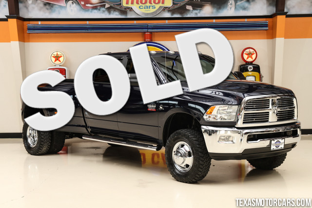 2012 Ram 3500 Lone Star 4x4 This Carfax 1-Owner 2012 Ram 3500 Lone Star is in great shape with onl