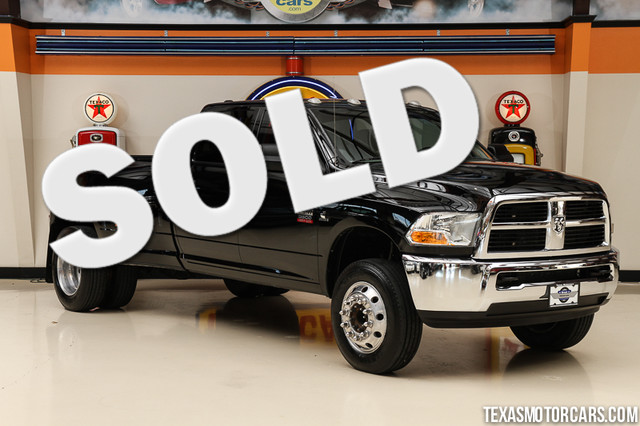 2012 Ram 3500 4x4 This 2012 Ram 3500 is in great shape with only 98 692 miles The Ram has a 67L