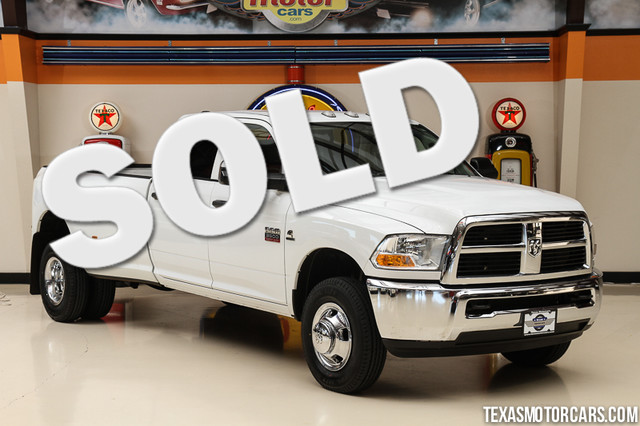 2012 Ram 3500 4x4 This Carfax 1-Owner 2012 Ram 3500 4x4 is in great shape with only 99 335 miles