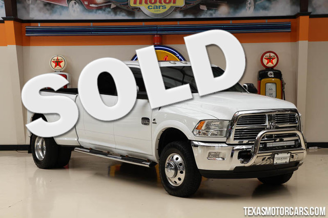 2012 Ram 3500 Laramie Longhorn This clean Carfax 2012 Ram 3500 Laramie Longhorn is in great shape
