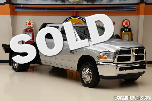 2012 Ram 3500 4x4 Financing is available with rates as low as 29 wac Get pre-approved in no t