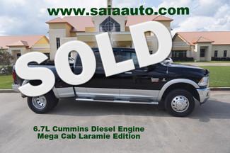 2012 Ram 3500 Mega Cab Dually Laramie 4wd Navigation Sunroof DVD Loaded Diesel