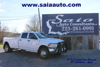 2012 Ram Dodge 3500 Crew Cab Dually St 6.7 Diesel 4WD Deleted Tuned Leveled  in Baton Rouge  Louisiana