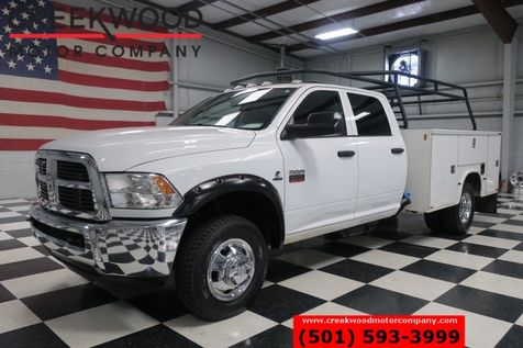 2012 Ram 3500 Dodge 4x4 Dually Diesel Utility Service Flatbed 1 Owner in Searcy, AR
