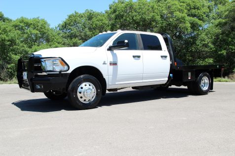 2012 Ram 3500 SLT - 6 SPEED - 4X4 - FLATBED - 1 OWNER in Liberty Hill , TX
