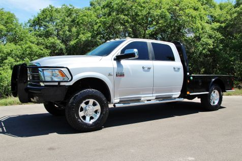 2012 Ram 3500 Laramie - 1 OWNER - NAV ROOF - FLATBED 4X4 in Liberty Hill , TX