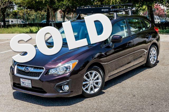 2012 Subaru Impreza 2.0i Premium - Manual - Roof Rack - Reseda, CA 0