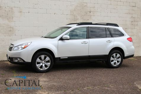 2012 Subaru Outback 2.5i Premium AWD Crossover w/Heated Seats, Streaming Bluetooth Audio & Phone in Eau Claire