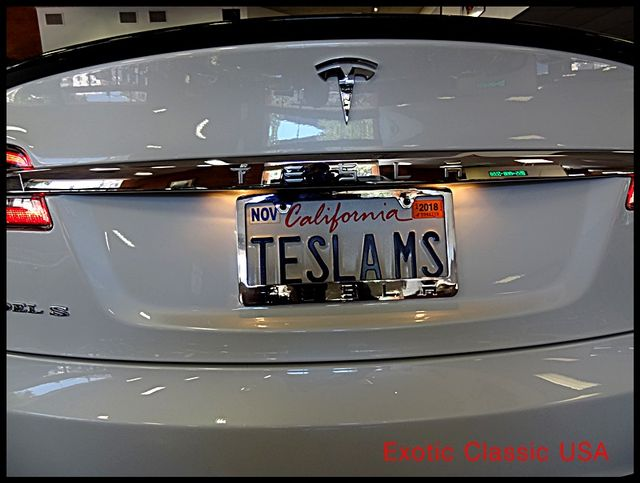 2012 Tesla Model S Signature Performance autographed by Elon Musk San Diego, California 33