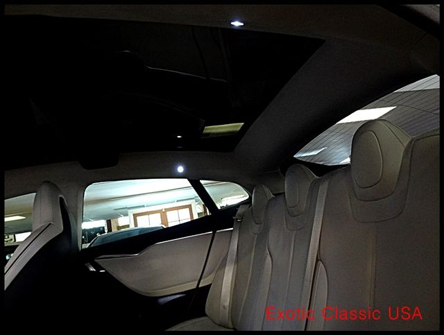 2012 Tesla Model S Signature Performance autographed by Elon Musk San Diego, California 65