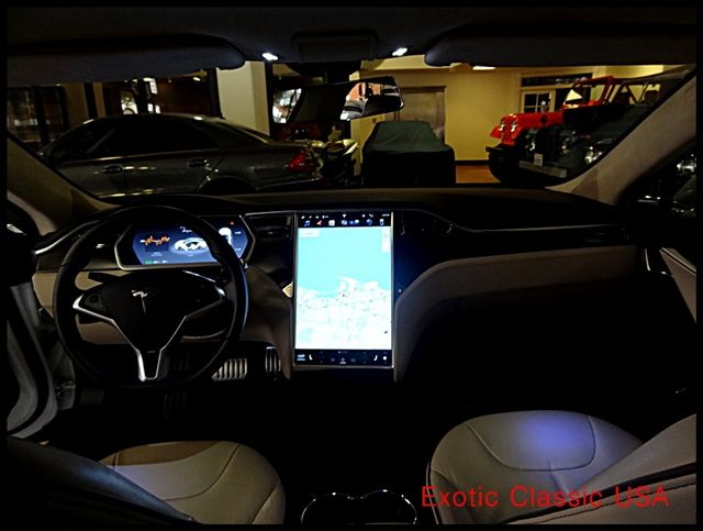 2012 Tesla Model S Signature Performance autographed by Elon Musk San Diego, California 66